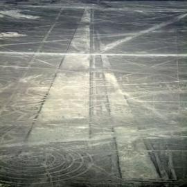 nasca airstrips?? maybe not, but still pretty cool and relevant