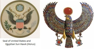 Great Seal and Horus, Sun God