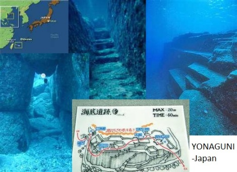 Yonaguni Underwater Formations